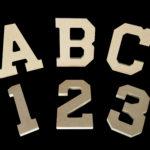 MDF Freestanding Block Letters - Numbers - Symbols