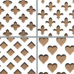 MDF Decorative Screening - Grille - Panels