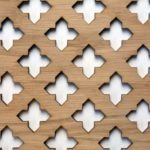 Oak Veneered Decorative Screening - Grille - Panels