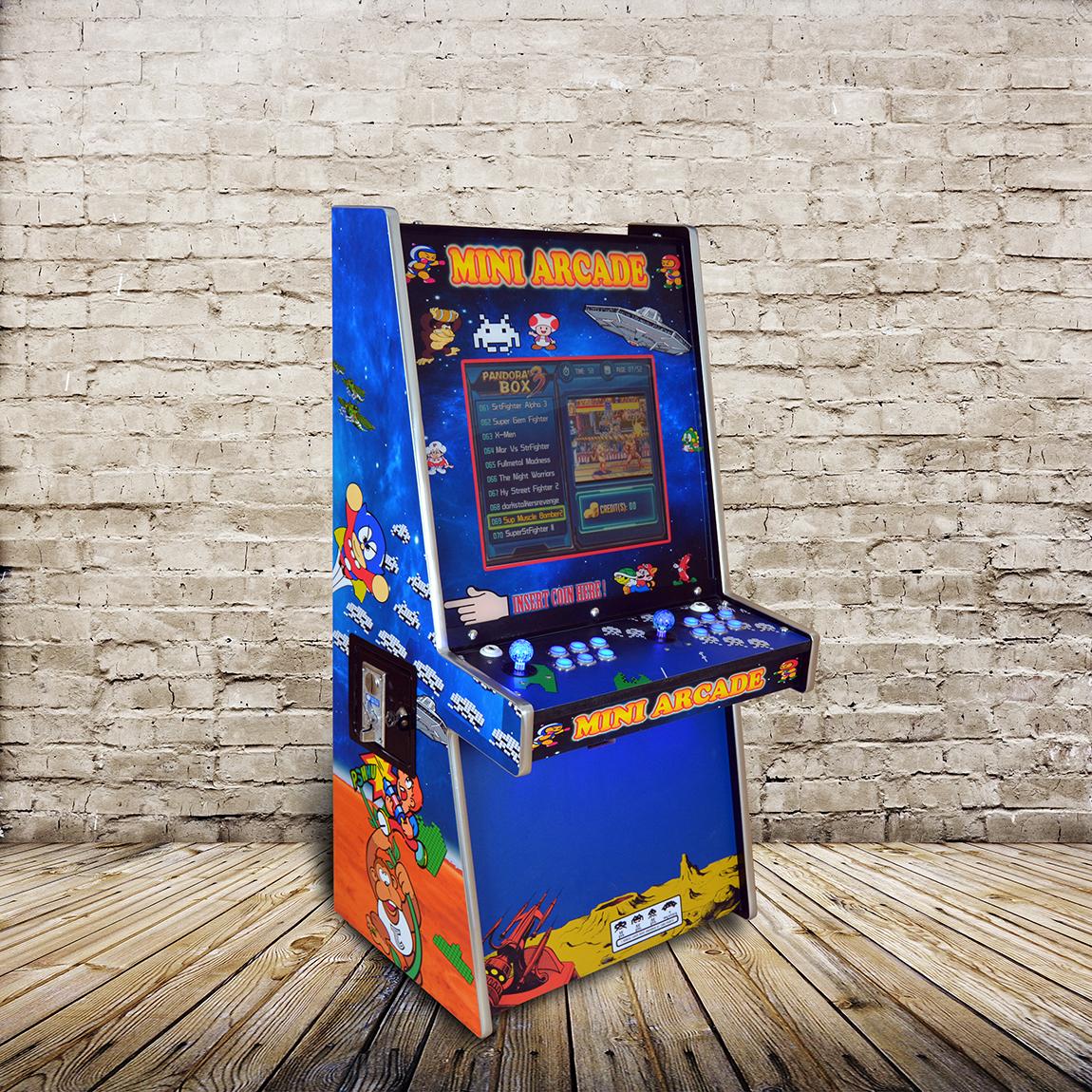 Mini Arcade Game Machine - 500+ classics retro games ...