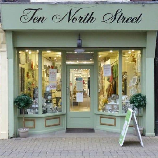 ten north street Logo