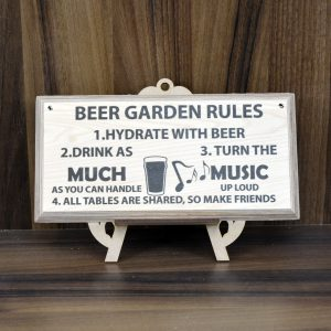 Garden And Outdoor Plaques